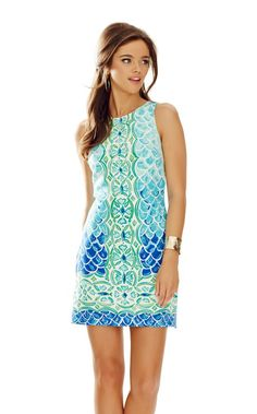Lilly Pulitzer Perla Sleeveless Shift Dress In Multi Scale Back Engineered Scuba Casual Outfits, Cute Outfits, Fashion Outfits, Fashion Trends, Casual Dresses, Summer Outfits, Daytime Dresses, Evening Dresses, Shift Dresses