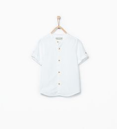 Image 1 of Woven shirt from Zara