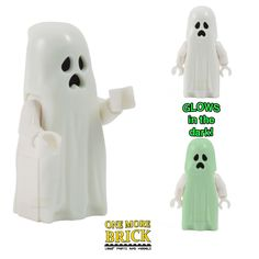 Ghost Figure - Glows in dark - Monster Halloween haunted Peterborough, Retro Arcade Machine, Cool Lego, Awesome Lego, Lego Halloween, Living Room Lounge, Wine And Beer, Lego Brick, Lego Sets