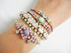 Pastel arm candy