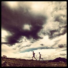 """what a duo: """"Electrifying"""" day with Kilian Jornet & Seb Montaz Video blog! — at Indian Peaks Wilderness, CO."""