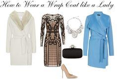 Wrap Coat, Fashion, Oscar de la Renta, Dolce & Gabbana, Temperly London, Style, Polyvore, Classic, Style, Max Mara, Fur, Coat, Women's Fashion