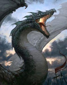 Mighty Dragon by Selene (DeviantArt| Facebook |tumblr)