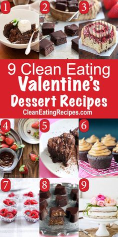 Clean Eating Valentine Recipes
