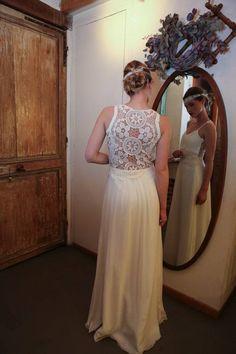 Colette - So rétro - Robes de Mariées Paris Elsa Gary