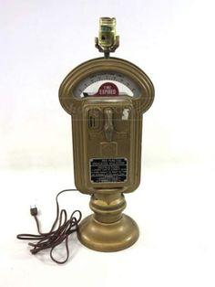Vintage Converted Chicago Parking Meter Lamp