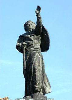 Monument à Adam Mickiewicz . Antoine Bourdelle. . Paris 8e