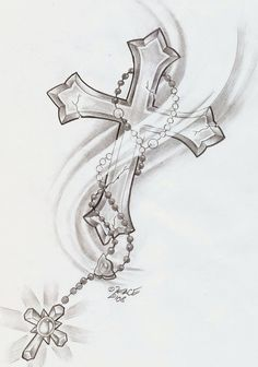 Cross Tattoo Designs.... I love this... Might get it one day don't know where though.