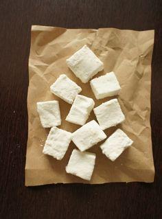 comida de quinta: marshmallows