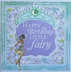 A card by Kelly-ann Oosterbeek made using the Fairy Dust Collection from Kaisercraft. www.amotehrsart.com.au