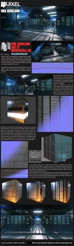 [CE3] Sci-Fi Server Room - Page 3 - Polycount Forum