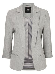 'Julia' Marle Ponte Jacket -