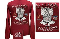 """Kidz Closet & More  Be ready to cheer ROLL TIDE in our new """"The Sweet Taste of Sugar"""" Sugar Bowl Tee! $25.99- adult sizes only! Absolutely adorable! Come get yours today before they are all gone!"""