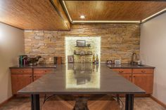Wine Tasting Room With Cambria Quartz Countertop By Billings Marble Granite