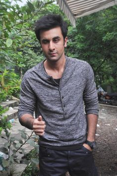 ranbir kapoor on the sets - Google Search