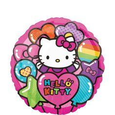 Rainbow Hello Kitty Balloon