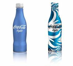 Limited Edition Coca-Cola Light Bottles