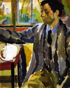 Duncan Grant Painting by Vanessa Bell                                                                                                                                                                                 More