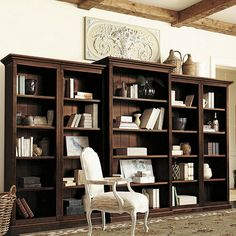 Bookcases for a Home Office: Traditional White vs. Industrial - Driven by Decor