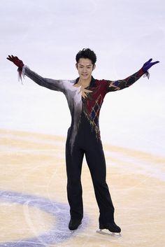 SHANGHAI, CHINA - NOVEMBER 03:  Daisuke Takahashi of Japan skates in Men Free Skating during Cup of China ISU Grand Prix of Figure Skating 2012 at the Oriental Sports Center on November 3, 2012 in Shanghai, China.