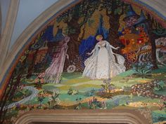 Tilework at castle walk through. The Magic Kingdom Hollywood Studios, Epcot, Magic Kingdom, Walt Disney World, Animal Kingdom, Orlando, Castle, Painting, Animals