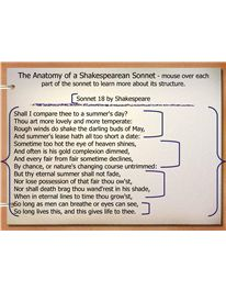 Analyzing shakespeares sonnets and sonnet writing activity anatomy of a shakespearean sonnet powerpoint fandeluxe Gallery