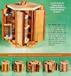 Rotary Box Plans - Woodworking Plans