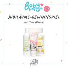 Wir starten die dritte Woche unseres Jubiläumsgewinnspiels mit tollen Babypflege-Sets von Truly Great! 🥳 Zu gewinnen gibt es diese Woche drei wunderbare Pakete bestehend aus jeweils: - 1 x Baby Oil - 1x Baby Creme - 1x Baby Wash