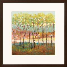Distant Color Framed Art Print by Libby Smart at Art.com
