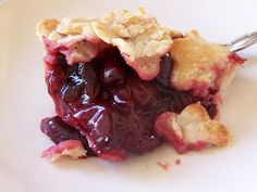 No cook cherry pie!!