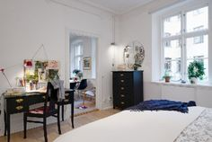 Scandinavian Apartment Room Design Office