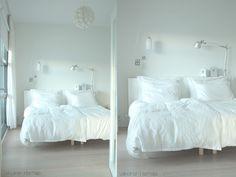 Makuuhuoneen pienet muutokset - Valkoinen Harmaja | Divaaniblogit