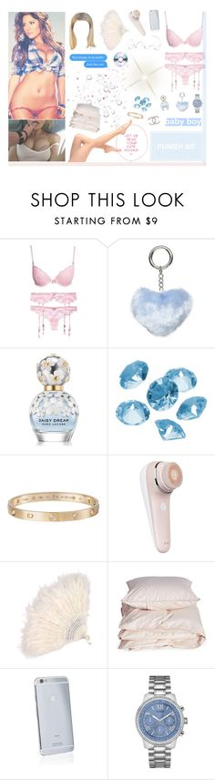 """""""I got my eyes on you"""" by rocio-rivera ❤ liked on Polyvore featuring Dorothy Perkins, Marc Jacobs, Blue La Rue, Cartier, Chanel, Aiayu, Goldgenie and GUESS"""