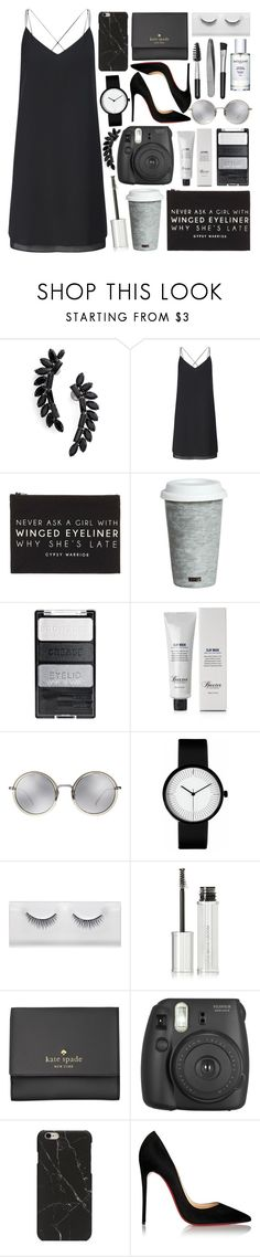 """""""Clutches"""" by creating-outfits ❤ liked on Polyvore featuring Cristabelle, Miss Selfridge, Forever 21, Fitz & Floyd, Baxter of California, Linda Farrow, Givenchy, Kate Spade, Fujifilm and Christian Louboutin"""