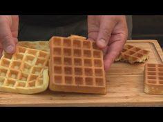Dlaczego gofry nie chrupią + idealny przepis i TEST GOFROWNIC/ Oddaszfartucha - YouTube Dessert Drinks, Chocolate, Breakfast, Youtube, Food, Beverages, Waffles, Pies, Kuchen