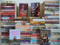 Lot+of+78+Harlequin+Historical+Serial+Romance+Books~Carolyn+Davidson~Ruth+Langan