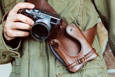 Photography gear that knows how to get in touch with your gunslingin' detective side.