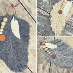 Diy handmade feather yarn embroidery floss bakers twine or even jute – Artofit Macrame Art, Macrame Projects, Macrame Knots, Yarn Projects, Macrame Jewelry, Crochet Projects, Yarn Crafts, Denim Crafts, Art Macramé