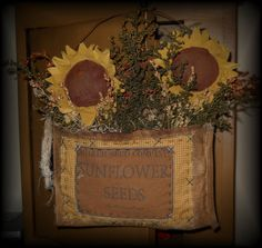 Sunflower+Carpenters+Apron+Pocket+by+RustyThimble+on+Etsy,+$27.59