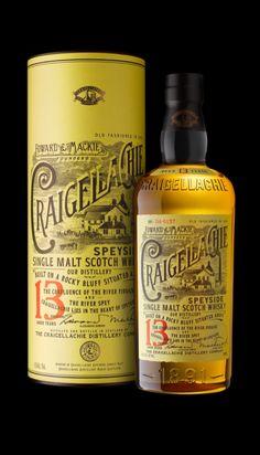 Single Malt Scotch Whisky · Craigellachie Distillery ·  Region Speyside · ne packing 2014