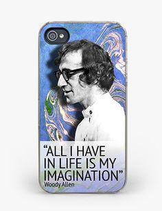 Woody Allen iPhone 4/4S Case