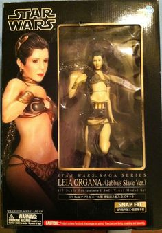 -= Princess Leia Jabba's Slave - Kotobukiya ArtFX 1/7 scale model! Star Wars =-