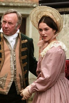 Young Kiera Knightley in the 1999 tv adaptation of Oliver Twist.