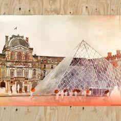 The Louvre by Maja Wronska