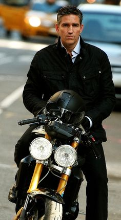 """yellowboxgrayarea: """" omglaurel: """" minse-mudl: """" No conviction with this dreamy look needed for me. I´d be on the passenger´s seat of this amazing motorcycle faster than you know it. Jim Caviezel, Person Of Interest Cast, Jim James, John Reese, Watch Tv Shows, Stella York, Best Model, My Heart Is Breaking, American Actors"""