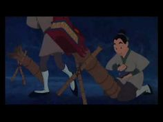 Mulan - i'll make a man out of you. One of my all time favorite disney songs!!!