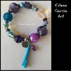 Lucky Charms Bracelet by ErleneGarciaArt on Etsy