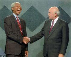 Mandela  FW de Klerk