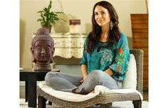 Stillness Room imports meditation chairs from Indonesia