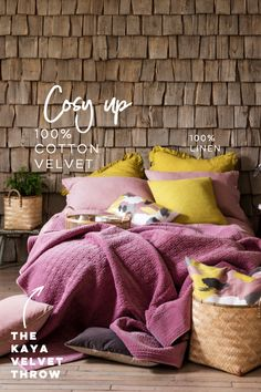 Scandinavian Design Inspired Home Decor : Also Home Inspired Homes, Storage Boxes, Scandinavian Design, Linen Bedding, Cotton Linen, Home Accessories, Beautiful Homes, Velvet